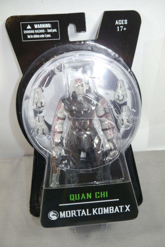 MORTAL KOMBAT X Quan Chi Actionfigur  Mezco Toyz Neu (KB)*
