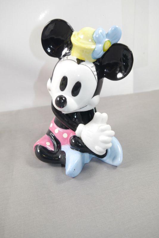 Minnie Maus Mouse Walt Disney Schmid Porzelan Keramik Figur  ca.18cm (K3)* 0