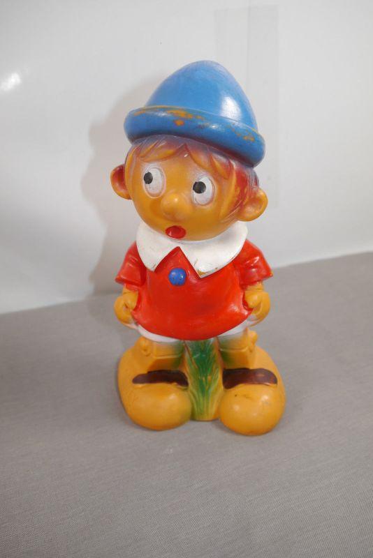 Disney Pinocchio  Gummifigur ca. 18cm Quitscher Walt Disney Pordctions  (K3)*