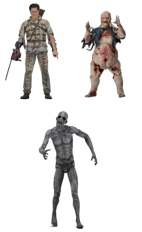 ASH vs EVIL DEAD Serie 2 : Demon Spawn , Henrietta , Asylum Ash NECA Neu (KB)
