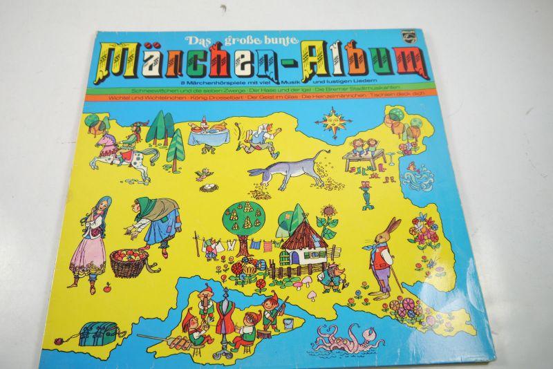 Das große Märchen Album Philips Schallplatte LP  Z : gut (WR1)