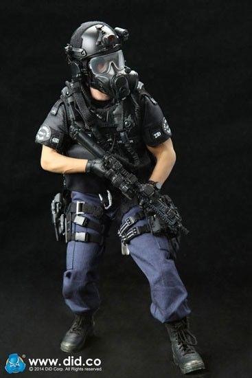DID LAPD Swat : Assaulter Driver Actionfigur 1:6 Ryan Gosling Neu (L) *