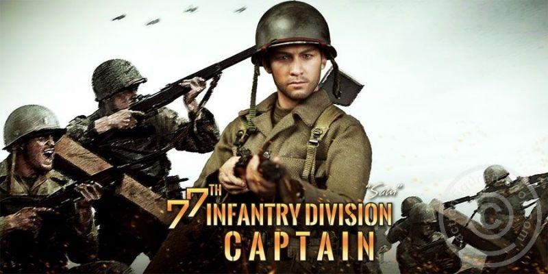 DID 77th Infantry Division : Captain Sam Actionfigur 1:6 Militär Neu (L) *
