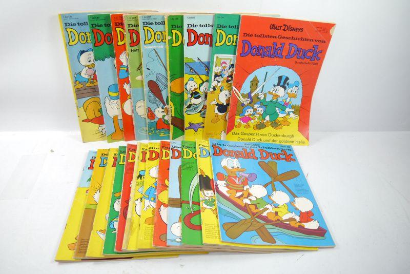 Donald tollsten Geschichten 21 Hefte ab Nr. 1 bis 38  Comic Ehapa  Z : 2-4 (WRX)