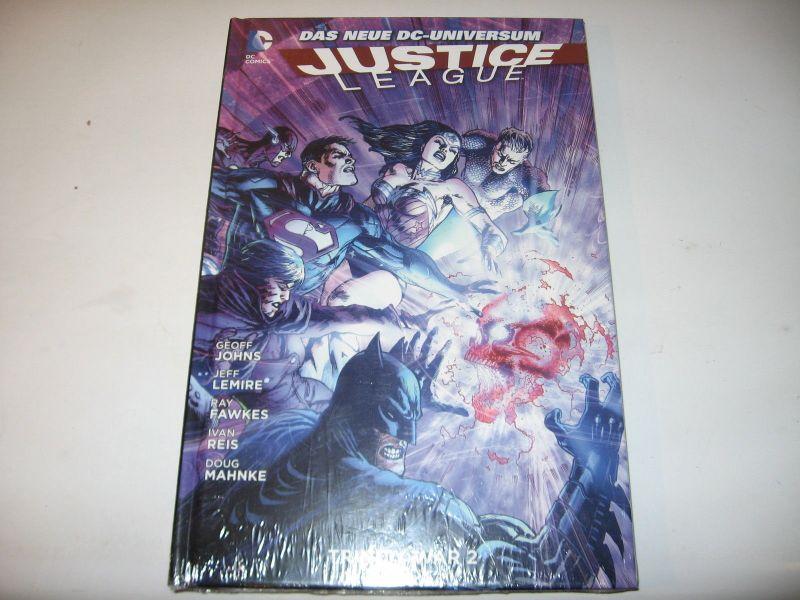 Justice League #6 Trinity War 2    / Lim. 333 /  HC / Panini Verlag / NEU / (L)
