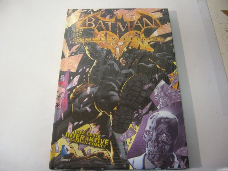 Batman Arkham Origins  (  Limitiert auf 444  ) HC / Panini / NEU / (L)