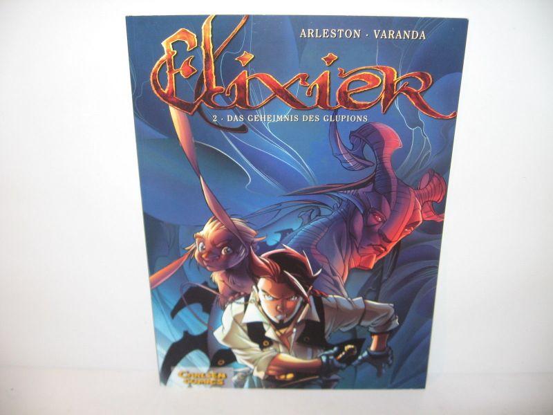 Elixier # 2  * Das Geheimnis des Glupions * Carlsen / SC /   Z : 2+ / (L)