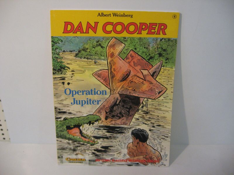 Dan Cooper # 4 * Operation Jupiter  * Carlsen /  Zustand : 2 / (L)