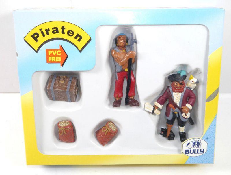 BULLYLAND Piraten   56111 Schatzsuche Set m. 2 Figuren MADE IN GERMANY Bully WR4
