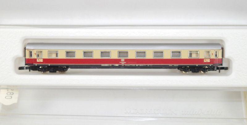 MÄRKLIN mini-club 8734 TEE Personenwagen 1.Klasse der DB Spur Z (MF11)