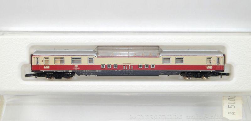 MÄRKLIN mini-club 8738 TEE Wagen mit Aussichtskanzel Spur Z Modelleisenbahn MF11
