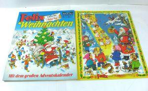 FELIX Weinnachten 1976 mit Adventskalender Comic SC BASTEI Z : 2  (B7)