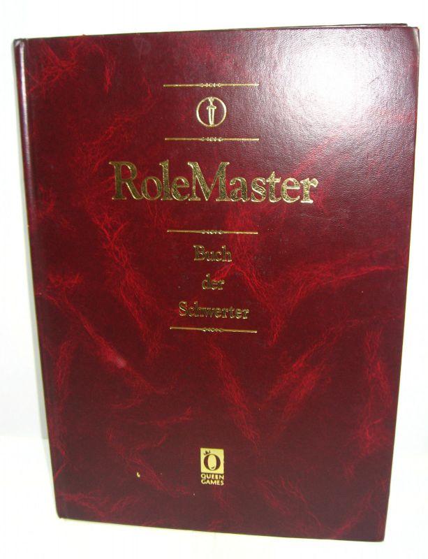 ROLE MASTER Buch der Schwerter 4.Auflage ROLLENSPIEL Tabletop QUEEN GAMES (B1)