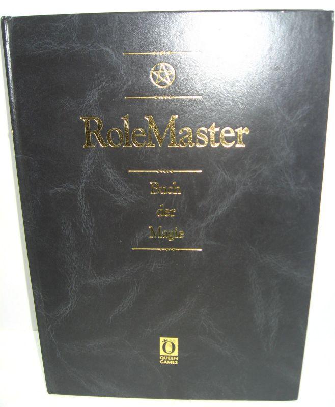 ROLE MASTER Buch der Magie 5.Aufl. ROLLENSPIEL Tabletop QUEEN GAMES (B1)
