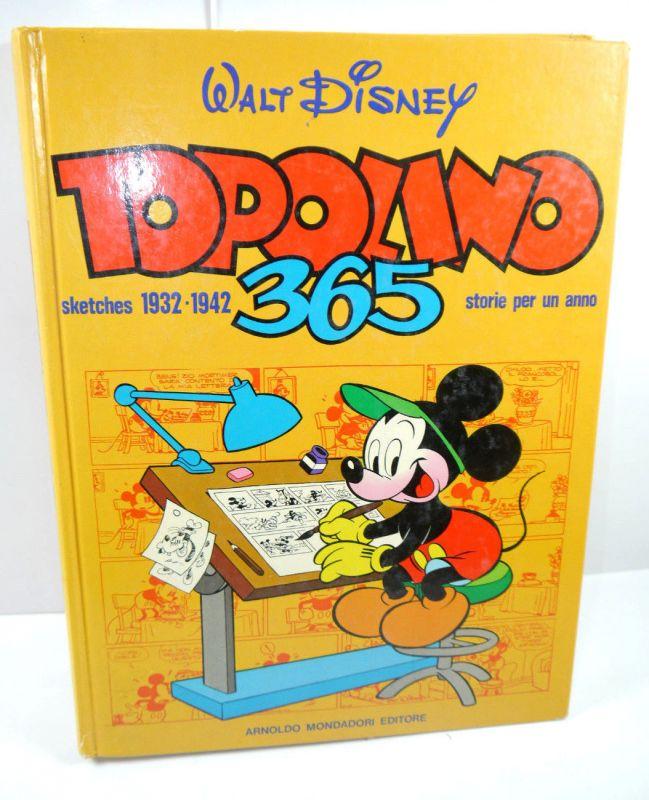 Walt Disney TOPOLINO 365 Micky Maus 1932 - 1942 Buch Gebunden MONDADORI (WR2)