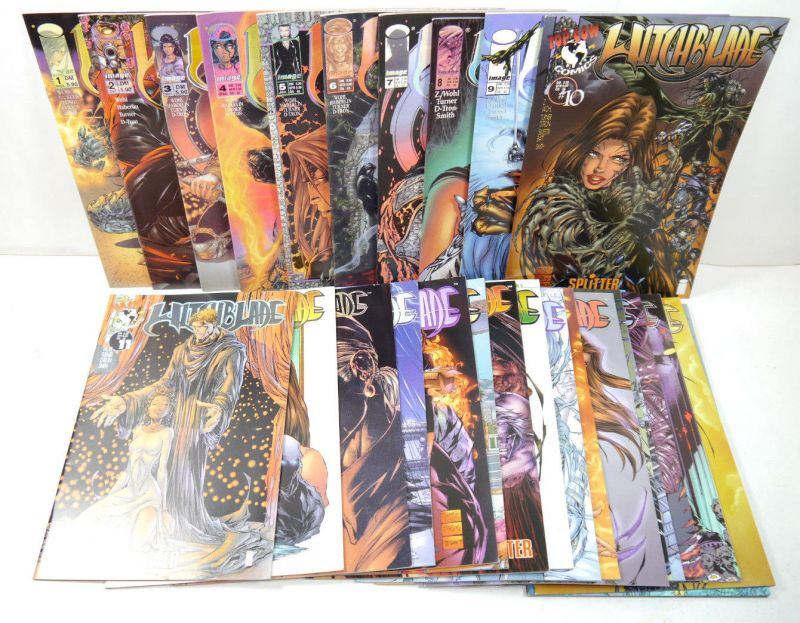 WITCHBLADE Heft 1 - 26  3 Hefte Variant Cover  Comic SPLITTER Top Cow Comics *B3