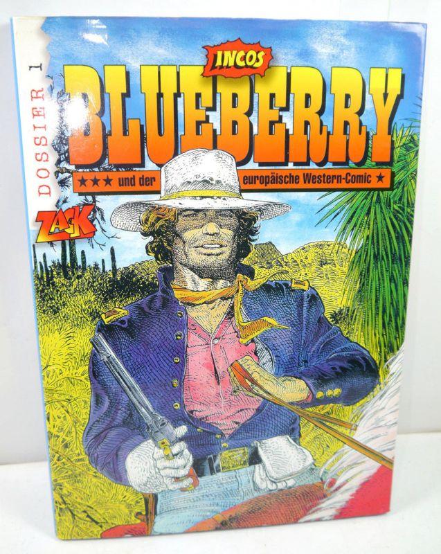 BLUEBERRY europäische Western-Comic Band 1 Zack Incos Gebunden (B1)