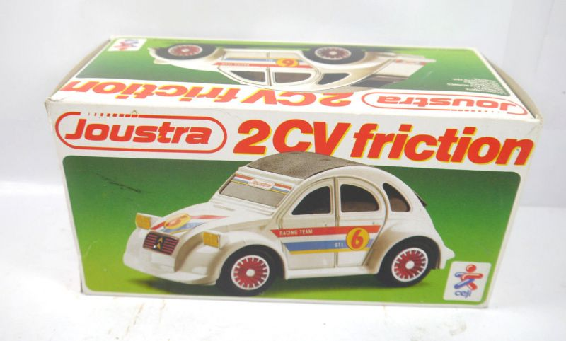 CEJI 2589 Joustra 2CV Käfer friction Racing Team Auto 80er mit OVP ca.21cm (K25)