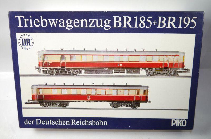 PIKO Triebwagenzug BR185 + BR195 Deutsche Reichsbahn DR Set Spur H0 1:87 (MF11)