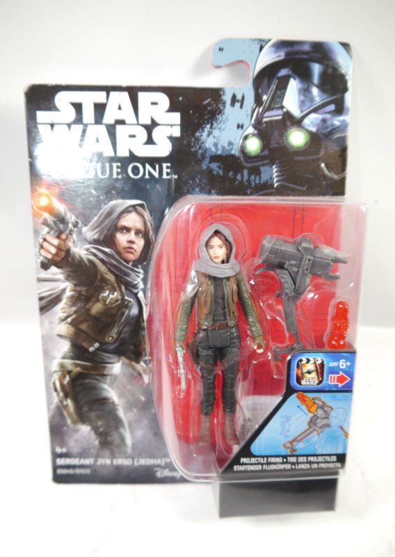STAR WARS Rogue One - B9846 Sergeant Jyn Erso JEDHA Actionfigur Hasbro Neu (L)
