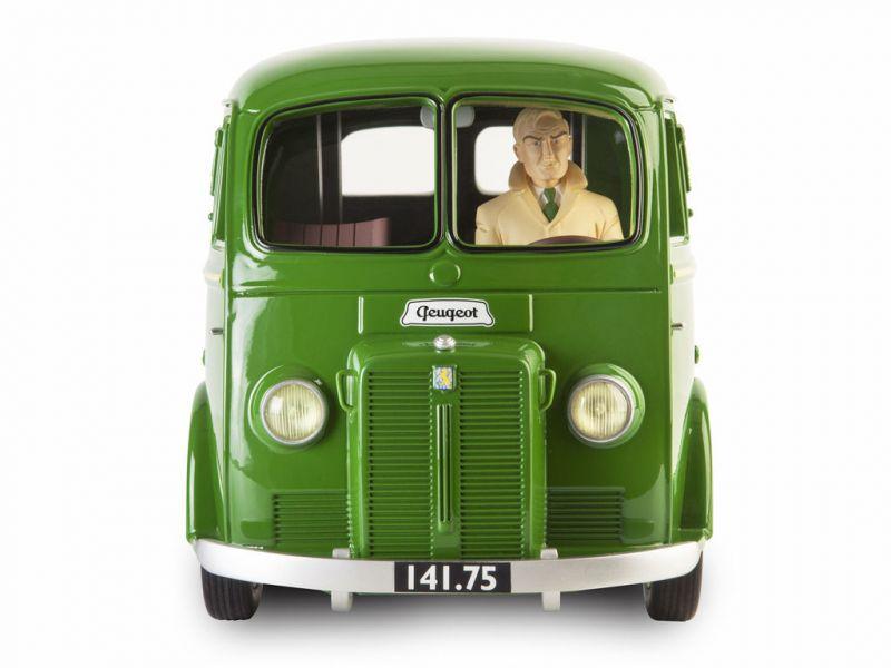 BLAKE & MORTIMER Fourgon postal Peugeot D3B 1953 Modellauto FIGURES & VOUS Neu * 1