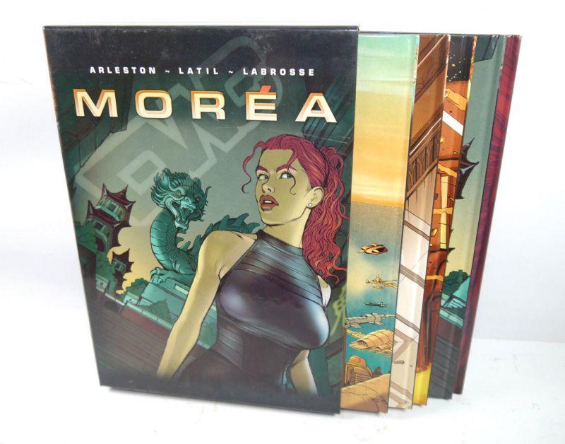MOREA Band 1 2 3 4 5 Comic HC + Sammelschuber SPLITTER Arleston , Latil (L)