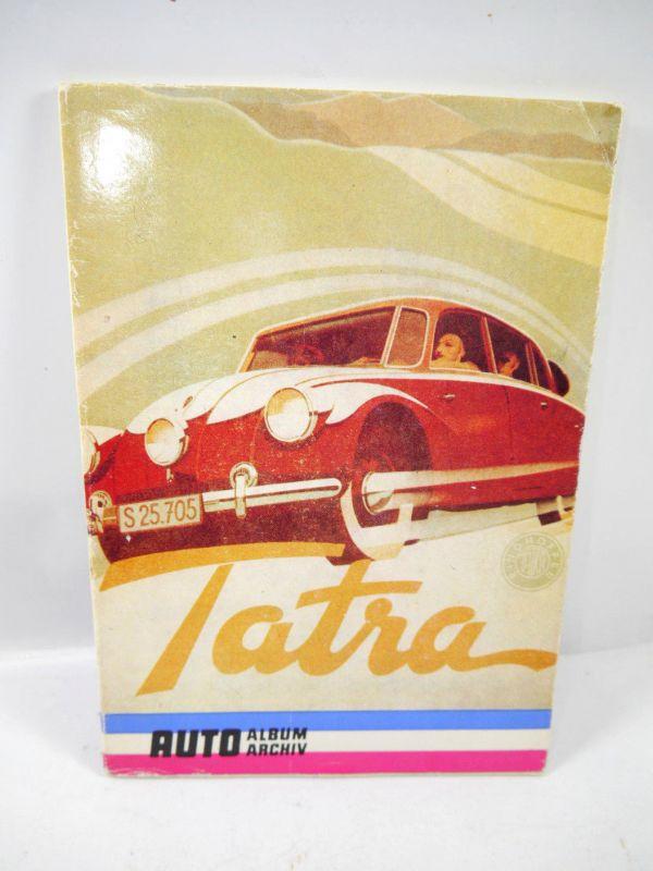 AUTO ALBUM ARCHIV Tatra - Heft tschechisch ( 80er Jahre ) Rosenkranz (WR3)