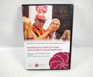 PERSÖNLICHE VERPFLICHTUNGEN & GLOBALE VERANTWORTUNG DVD Mind & Life Lama (WR4)
