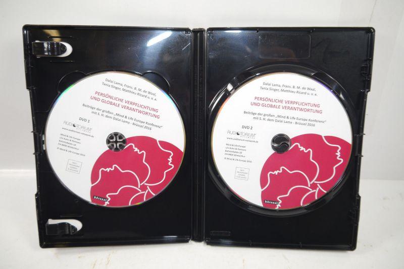 PERSÖNLICHE VERPFLICHTUNGEN & GLOBALE VERANTWORTUNG DVD Mind & Life Lama (WR4) 2