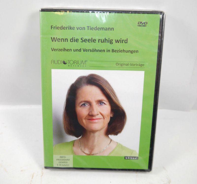 WENN DIE SEELE RUHIG WIRD Verzeihen & versöhnen DVD Tiedemann HÖRSAAL Neu (WR4)