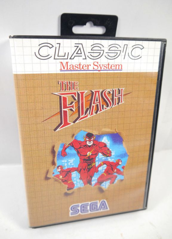 THE FLASH Classic Master System - Spiel game SEGA DC (K48)