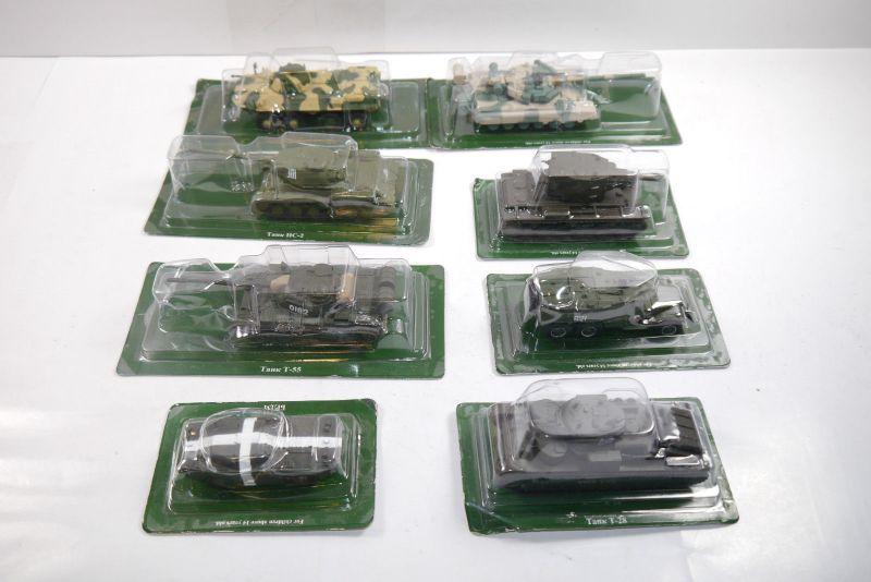 Udssr Tank 8 vers. Tank Panzer Russian Tank Serie 1:72  Eaglemoss  Neu OVP (KB)