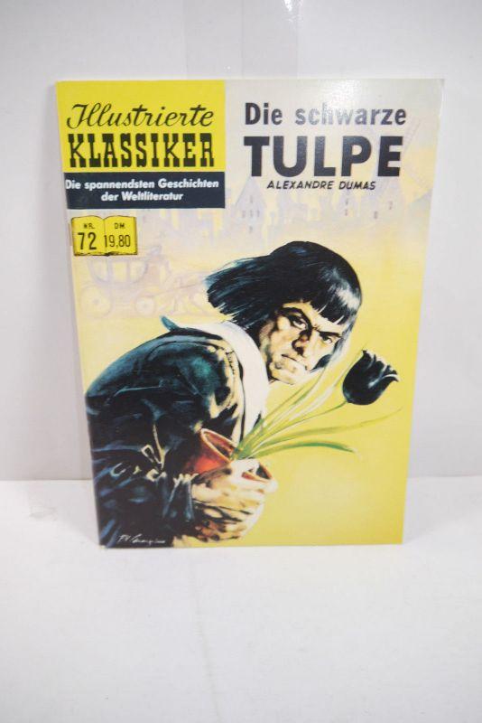 Illustrierte Klassiker Nr. 72 Die schwarze Tuple Hethke  Z : 1- (LR )