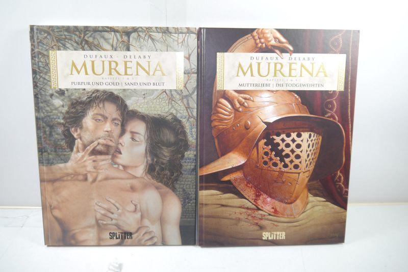 Murena Band 1 - 4 in zwei Bänden   Splitter  HC  Z : 1+  (L)