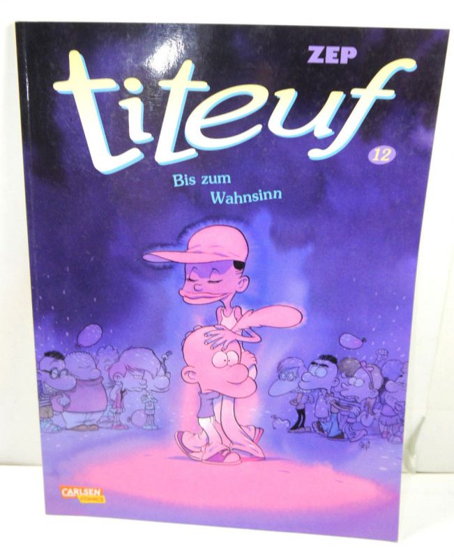 TITEUF Band 12 - Bis zum Wahnsinn Comic SC CARLSEN COMCIS Zep (L)