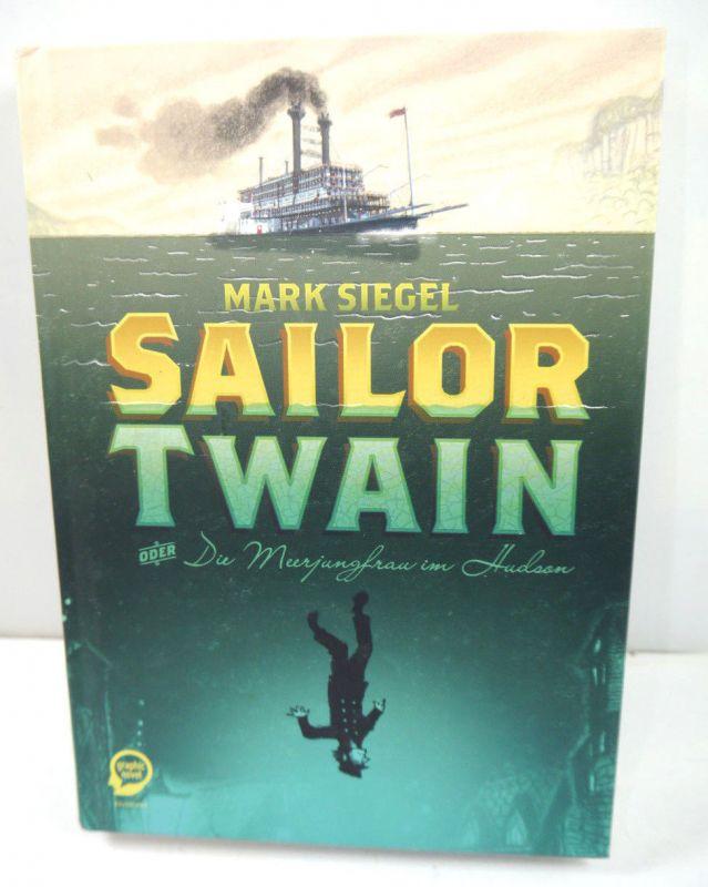 SAILOR TWAIN Die Meerjungfrau im Hudson Comic Gebunden EGMONT Graphic Novel (L)