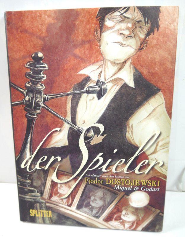 DER SPIELER Comic HC SPLITTER Dostojewski (L)