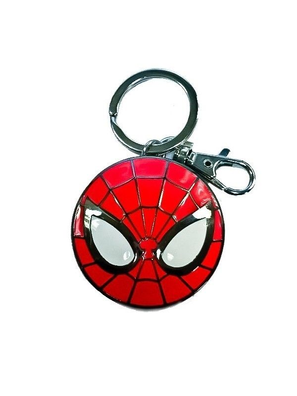 MARVEL Spider-Man Icon Logo Schlüsselanhänger keyring Metall SEMIC Neu (L)