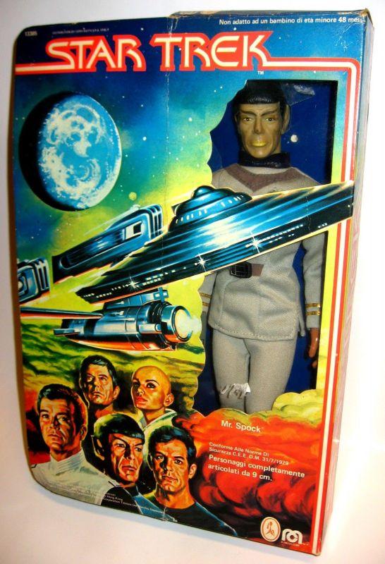 STAR TREK Mr. Spock Actionfigur MEGO CORP ca.30cm - mit OVP (L)