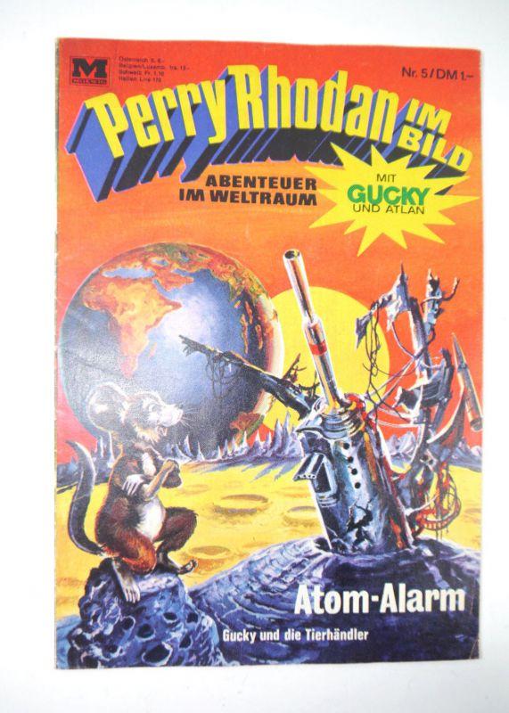 PERRY RHODAN im Bild : Heft 5 - Atom Alarm Comic MOEWIG VERLAG (MF13) 0