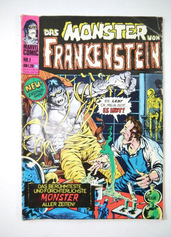 DAS MONSTER VON FRANKENSTEIN Heft 1 Comic Großband WILLIAMS Verlag Marvel (MF13)