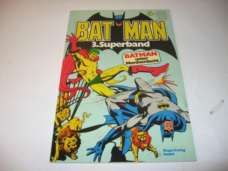Batman Superband Nr. 3  1976  mit Gutschein Ehapa SC  Zustand : 2+  (LR )