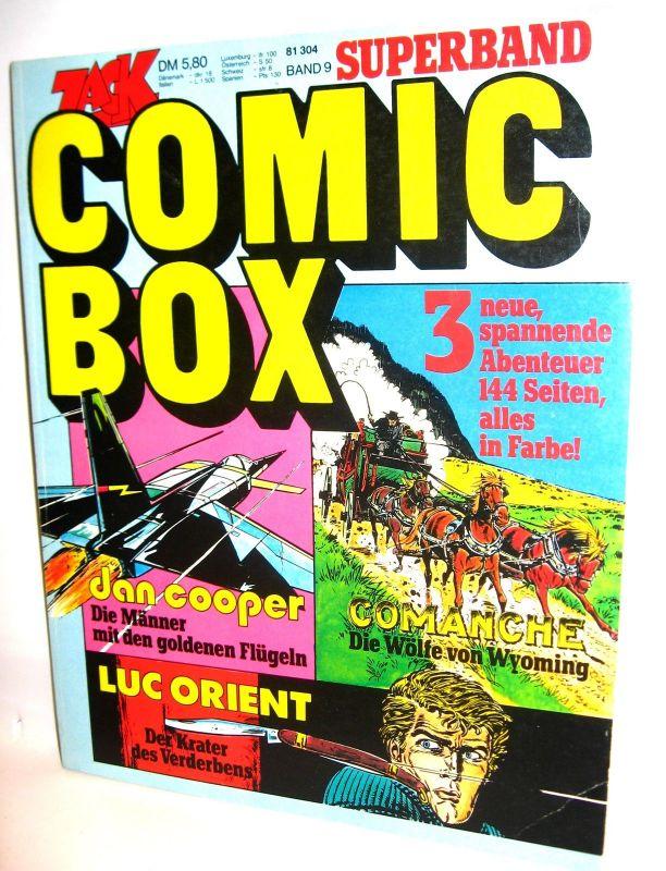 ZACK Superband # 9 - Comic Box / Dan Cooper, Comanche, Luc Orient (L)
