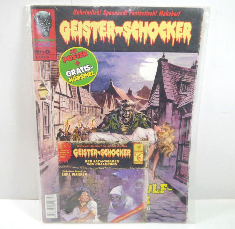GEISTER-SCHOCKER Heft 0 Comic + Hörspiel auf Cd ROMANTRUHE (WR9)