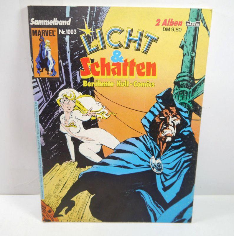 LICHT & SCHATTEN Sammelband Nr. 1003 / 2 Alben Comic SC MARVEL Bastei (WR9)