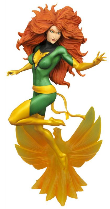 Marvel X-MEN Phoenix / Jean Grey Figur PVC Diorama GALLERY Diamond Select (L) *