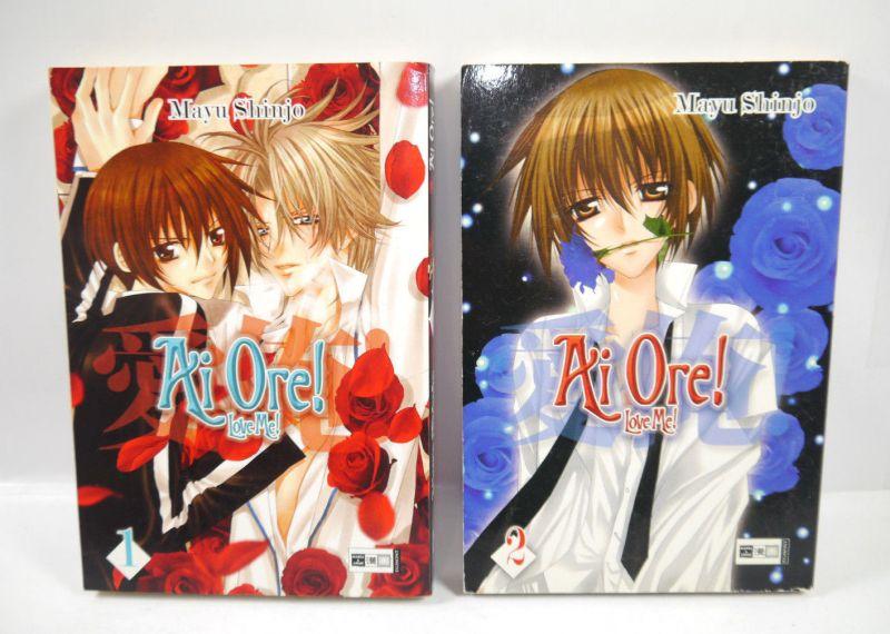 AI ORE Love Me - Band 1 + 2 Manga Mayu Shinjo EGMONT Shonen-ai (MF13)