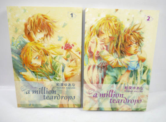A MILLION TEARDROPS Band 1 + 2 Manga KOMPLETT Yuana Kazumi CARLSEN (MF13)
