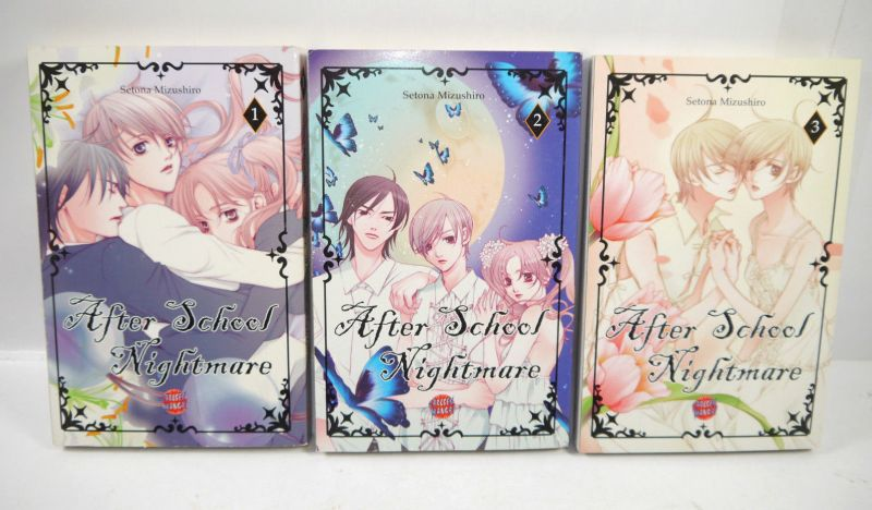 AFTER SCHOOL NIGHTMARE Band 1 2 3 Manga Setona Mitzushiro CARLSEN (MF13)