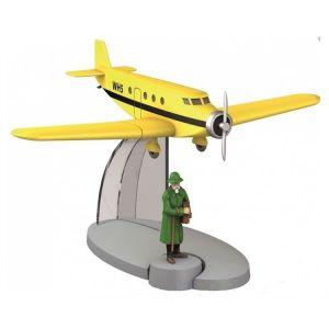 TIM & STRUPPI Flugzeug Basil Bazaroff Figur Tintin Moulinsart Modell 29534 (L*